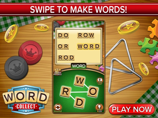 Word Collect: Word Games на iPad