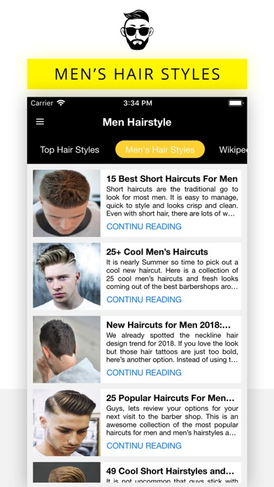 Men Hairstyle Haircuts App Price Drops