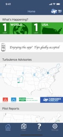 Turbulence Forecast on the App Store