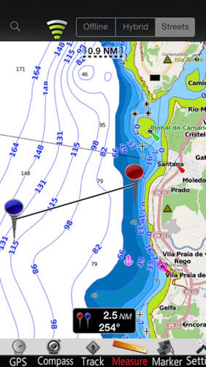 Galicia GPS Nautical Charts screenshot-3