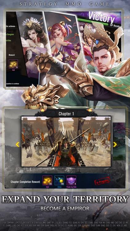 Three Kingdoms : Massive War screenshot-4