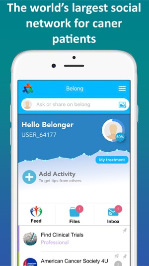 BELONG Beating Cancer Together Screenshot
