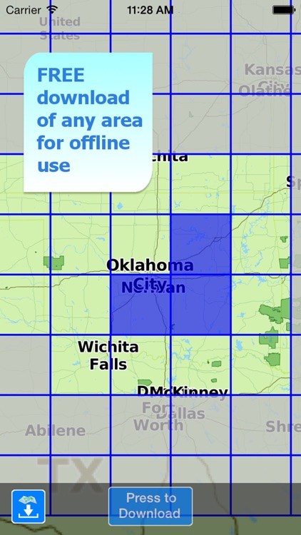 Aqua Map Oklahoma Lakes GPS screenshot-5