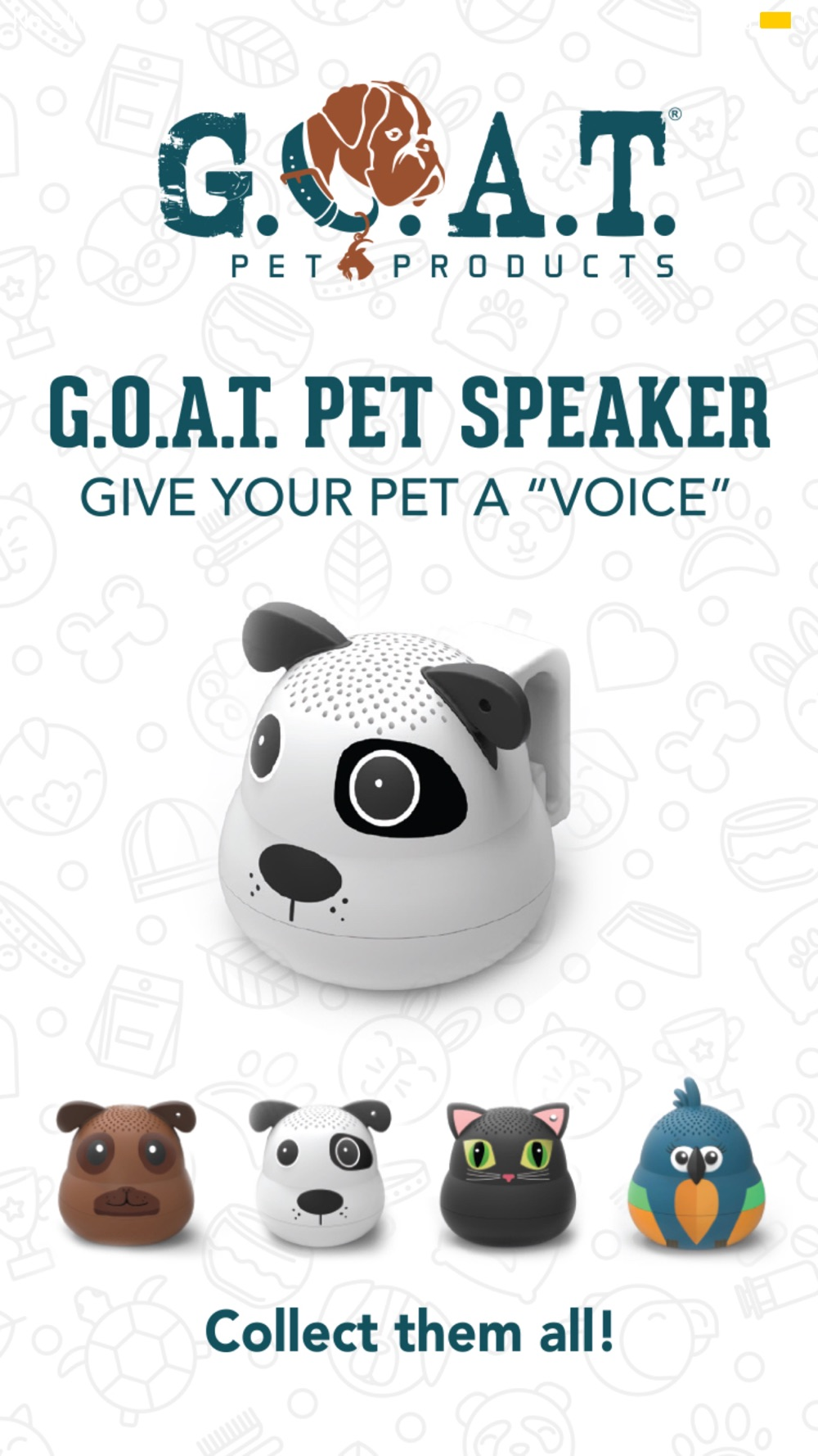G.O.A.T. Pet Speaker Cheat Codes