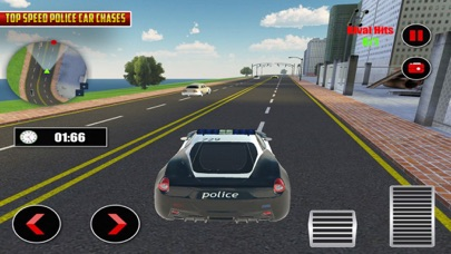 Police Car Chase Street Racers screenshot two