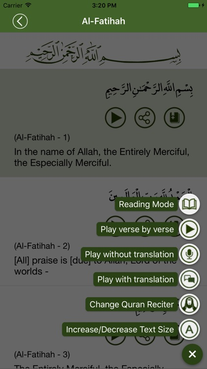 Al-Quran English screenshot-3