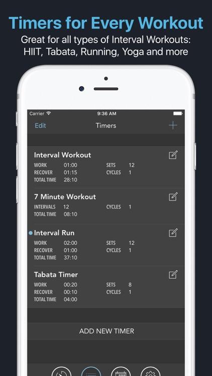 Intervals - Interval Timer screenshot-4