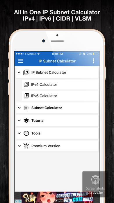 IP & Subnet Calculator screenshot one