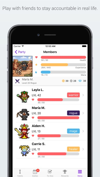 Habitica: Gamified Taskmanager screenshot-3