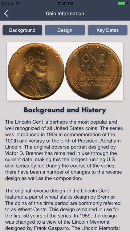 Lincoln Cents - Coin Guide & Collection Tracker