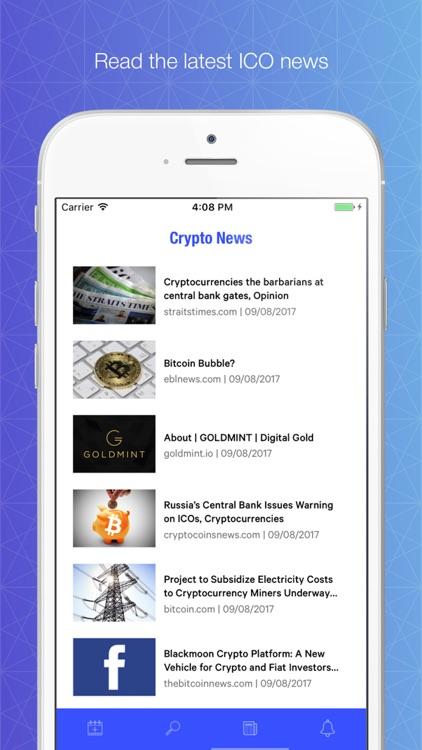 ICO Pro - Crypto Calendar screenshot-3