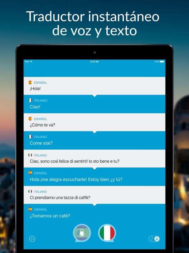 Hablar Y Traducir Traductor En App Store
