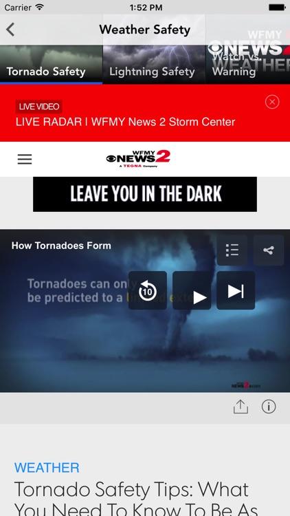 WFMY News 2 screenshot-3