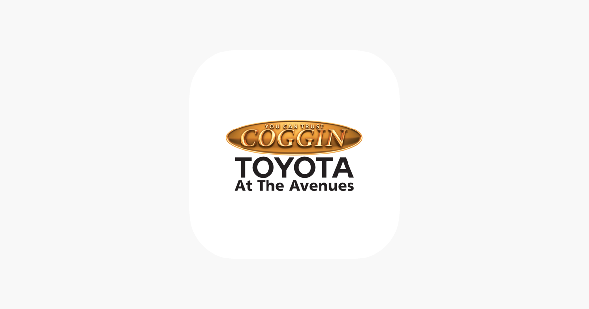 Coggin Toyota At The Avenues On The App Store