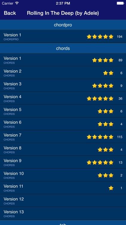 GuitarTapp PRO - Tabs & Chords screenshot-3