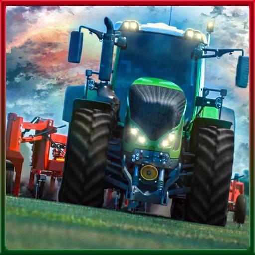 Farm Tractor Harvest
