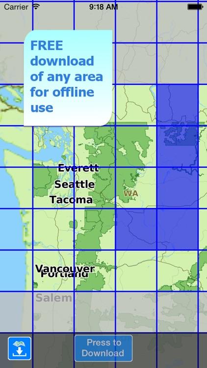 Aqua Map Washington Lakes screenshot-4
