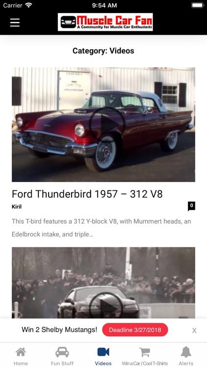 Muscle Car Fan screenshot-3