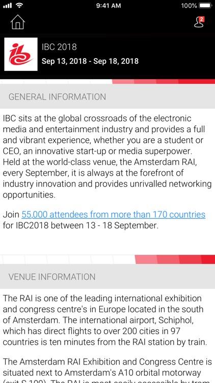 IBC2018 Official Event App screenshot-3