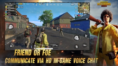 Screenshot of PUBG MOBILE App