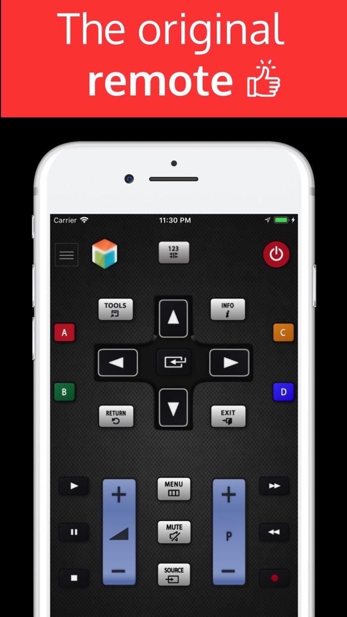 SamRemote: remote Samsung TV Screenshot
