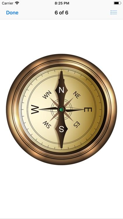 Compass Stickers screenshot-8