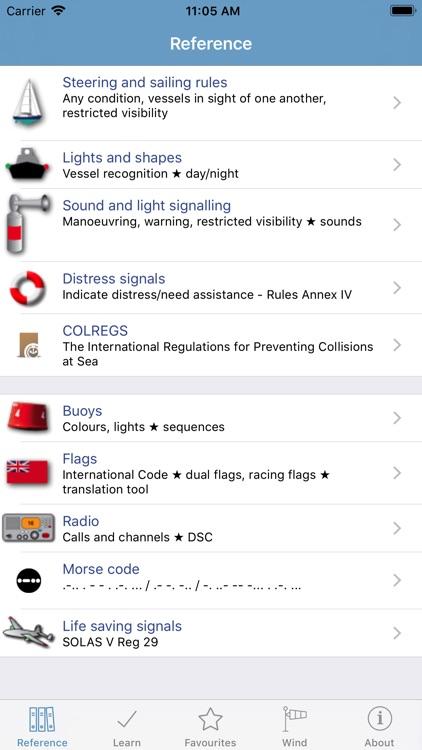 Marine Rules & Signals