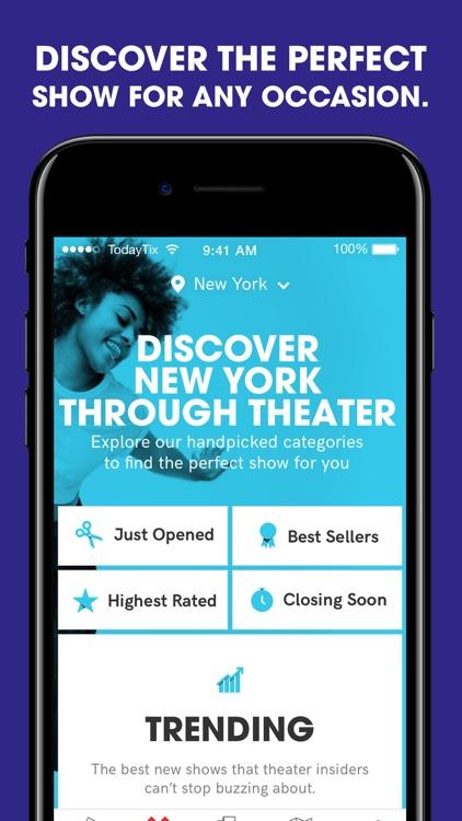 TodayTix — Last-minute Broadway & theater tickets screenshot-3