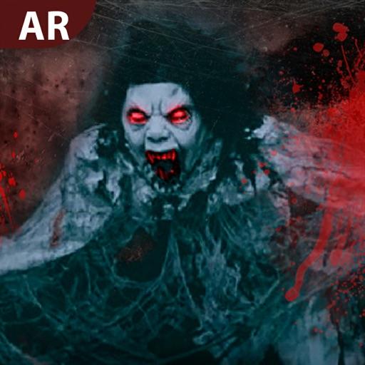 Scary Nun - AR Ghost Visor