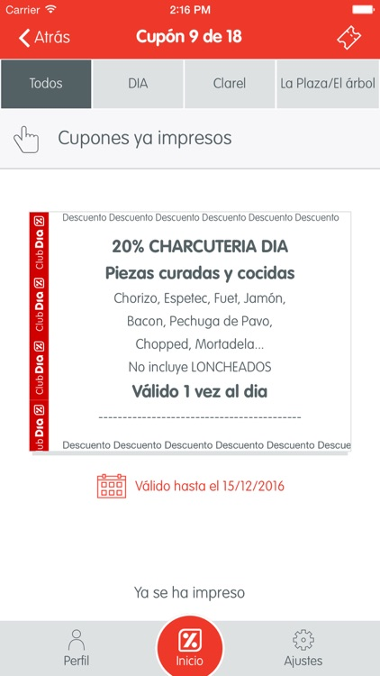 Club DIA: cupones y ofertas screenshot-2