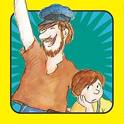 אבא עושה בושות – עברית לילדים