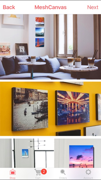 Printage: Canvas Prints, Wall Photos, Create Gifts