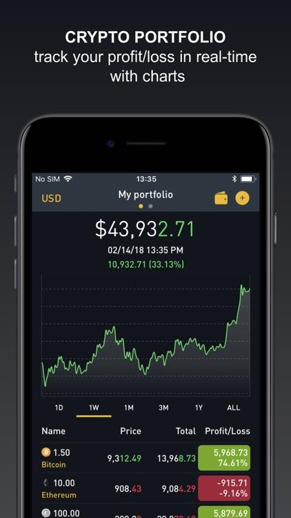 Crypto Tracker by BitScreener screenshot-0