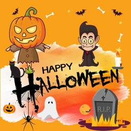Halloween Objects Sticker