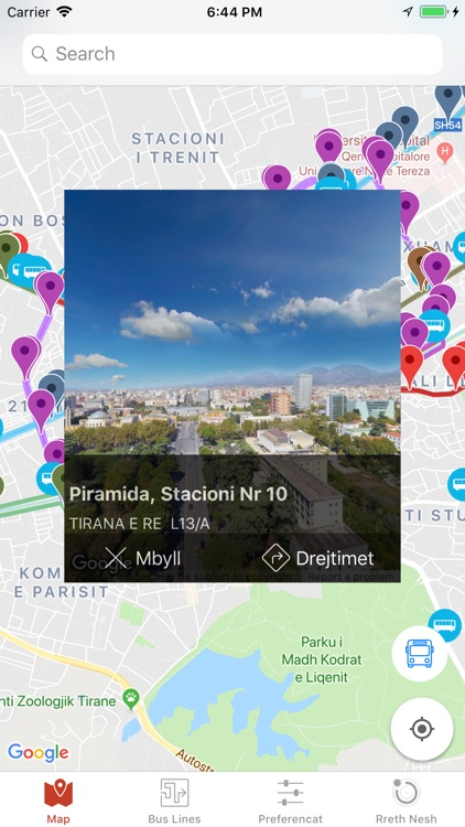 Tirana Public Transport screenshot-3