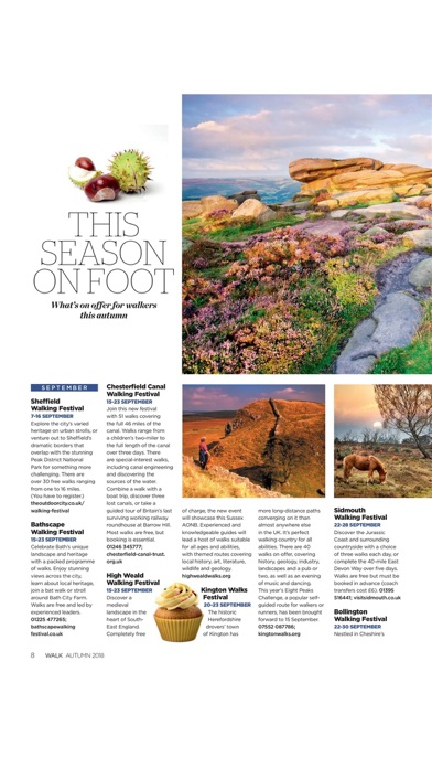 Walk Magazine screenshot1