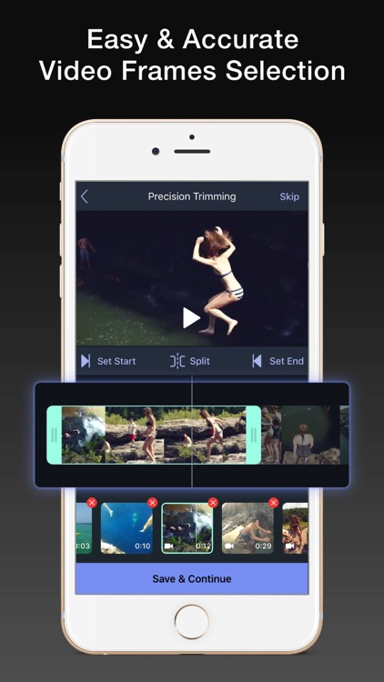 Trim and Cut Video Editor Pro by Gladrap Studio