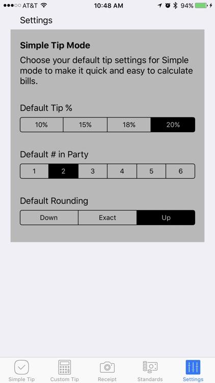 Tip Simple screenshot-4