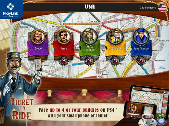 Ticket to Ride for PlayLink screenshot 6