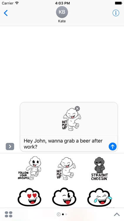 Dreamoji - Animated Stickers screenshot-3