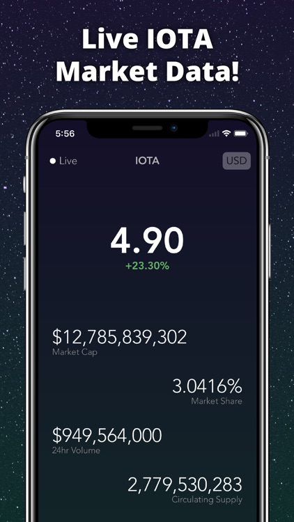 IOTA Tracker Live screenshot-1
