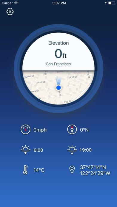 고도계 GPS--현재 고도 for Windows