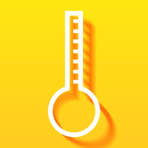 Transparent Thermometer