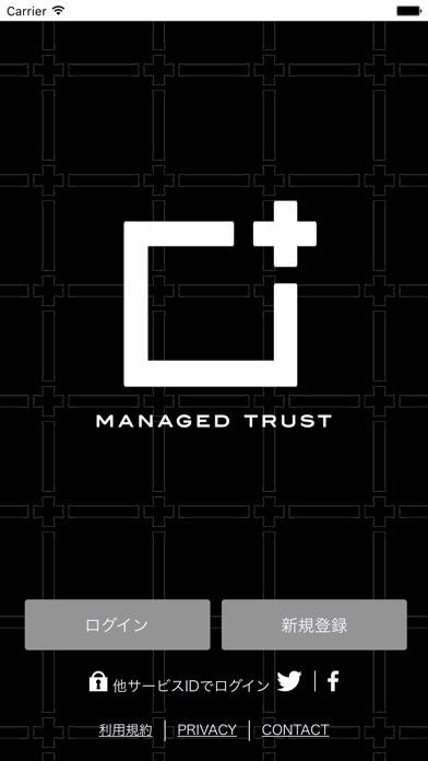 MANAGED TRUSTのスクリーンショット1