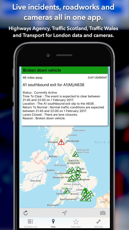 UK Roads - Traffic & Cameras screenshot-0