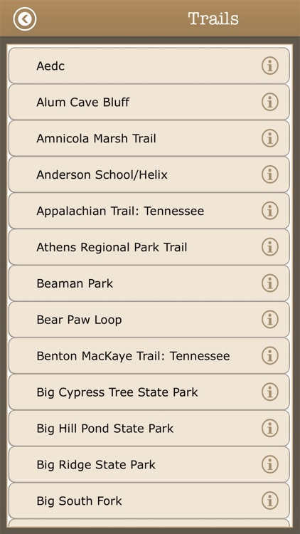 Best -Tennessee Camps & Trails screenshot-3