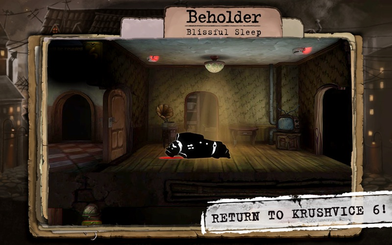 Beholder. Blissful Sleep screenshot 5