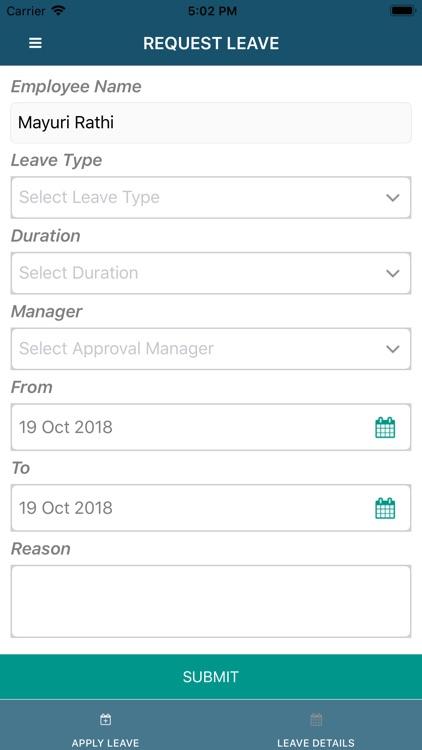 LeaveManager screenshot-3