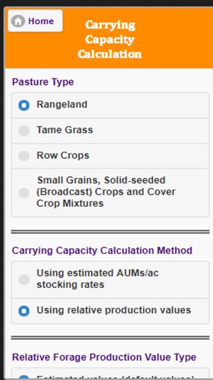 NDSU Grazing Calculator screenshot-3