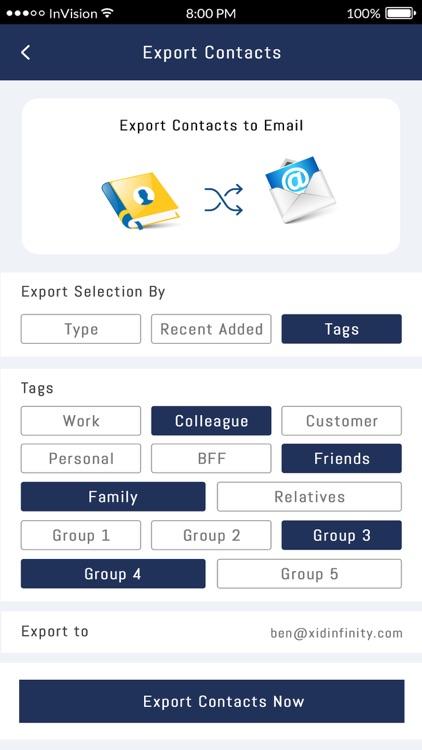 xID Digital Business Card screenshot-4